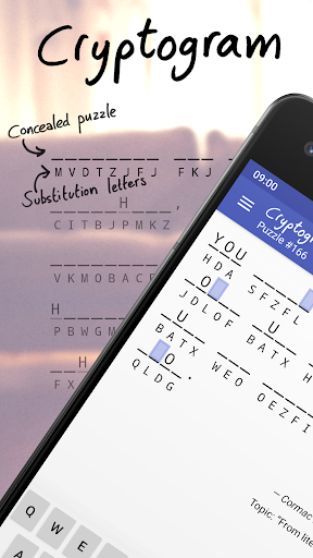 Cryptogram  screenshots 1