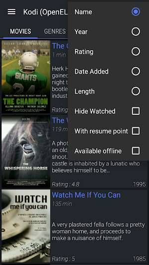 22 Yatse, the Kodi / XBMC Remote App screenshot