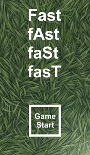 Fast fAst faSt fasT