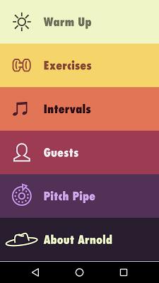 Vocal Ease - screenshot