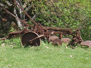 Photo: Old ranch farm equipment