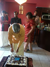 Photo: Feb-06,2013 Bhajan & 64th B'Day