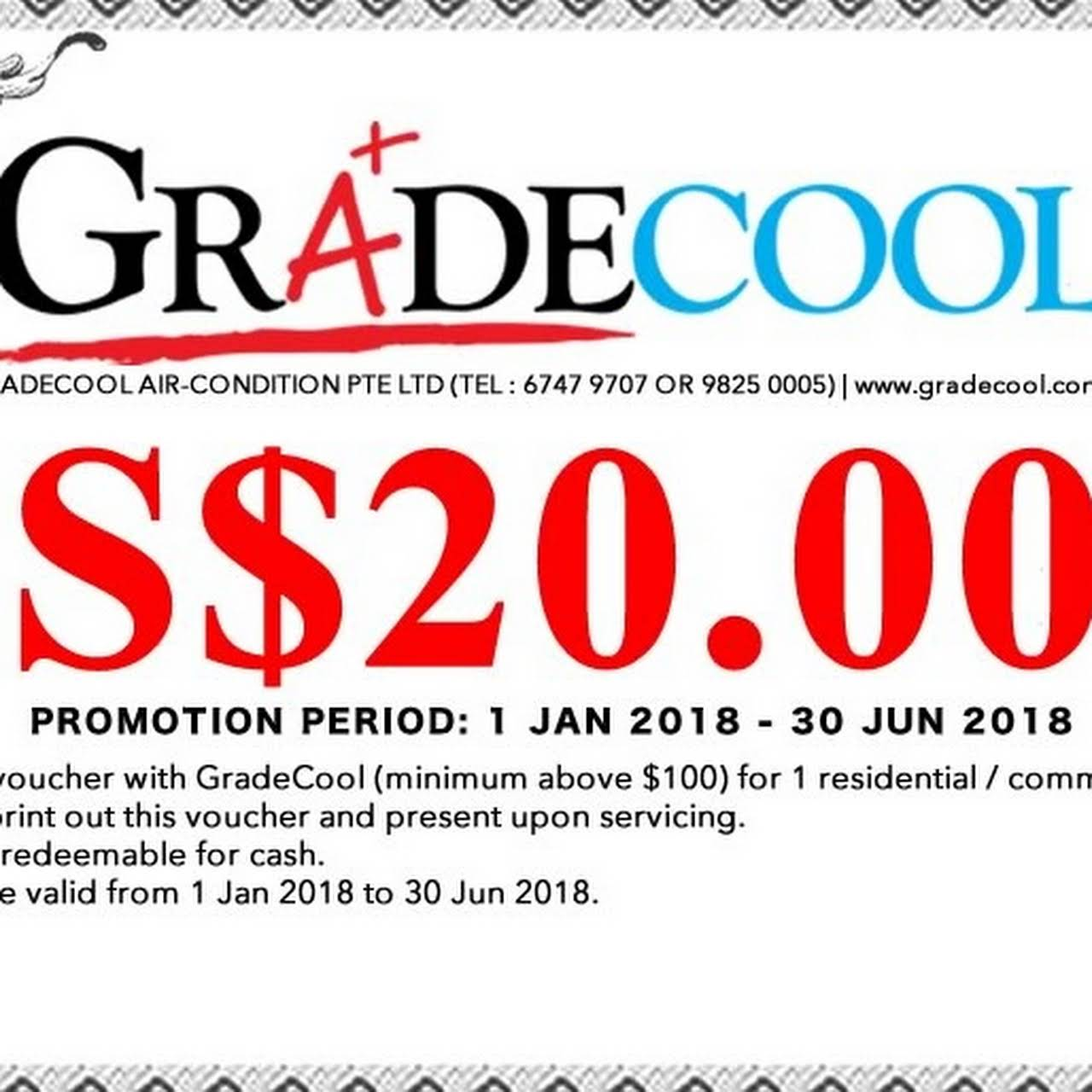 GRADECOOL AIR-CONDITION PTE LTD - Air Conditioning Contractor