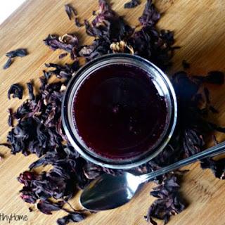 DIY herbal vitamin C syrup