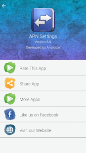 APN Settings- screenshot thumbnail