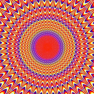 Visual optical illusions for PC and MAC