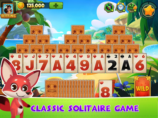 Solitaire TriPeaks Adventure - Free Card Game 2.2.7 screenshots 6