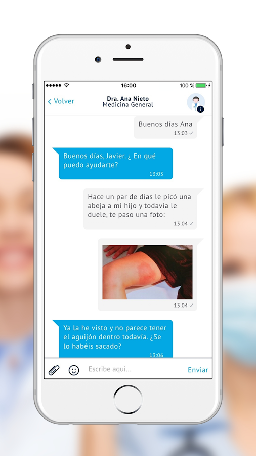iSalud.com - Chat Médico- screenshot