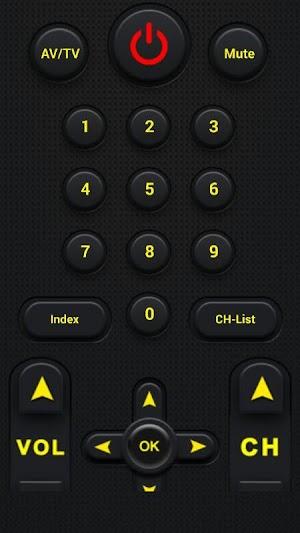 5 Universal TV Remote Control App screenshot