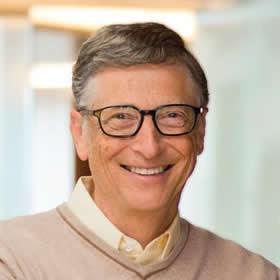 Bill Gates, founder @Microsoft