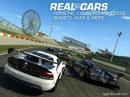 Real Car Racing iphone ipod ipad