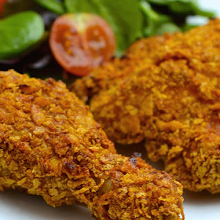 "Crispy Oven ""Fried"" Chicken"