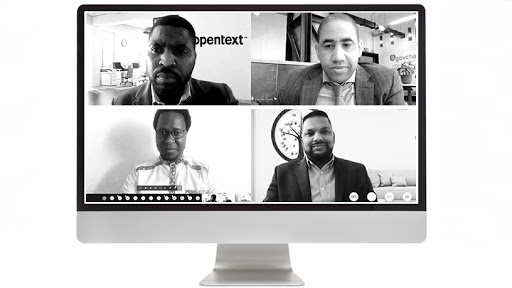 Thabiso Hlatshwayo, Eldrid Jordaan, Thomas Mangwiro and Basha Pillay.
