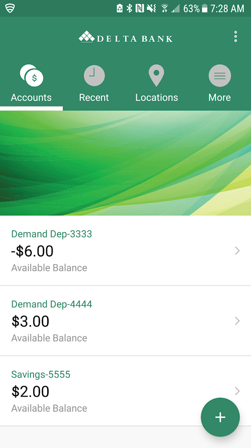 Delta Bank Mobile- screenshot