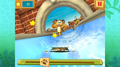 Madagascar Surf n' Slides Free screenshot 1