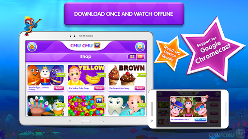 ChuChu TV Lite - Top 50 Kids Nursery Rhymes Videos 3.0 screenshots 12