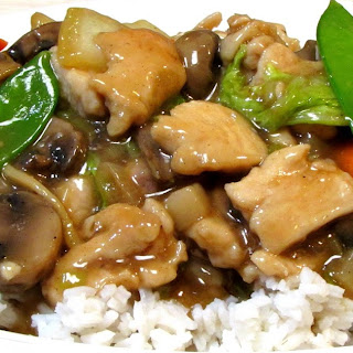 Moo Goo Gai Pan - Chinese Food