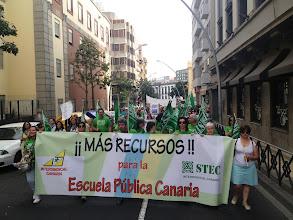 Photo: Pancarta STEC-IC Méndez Núñez