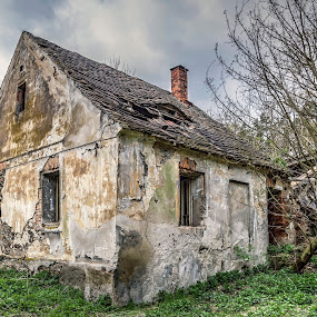 Old house by Martin Namesny - Buildings & Architecture Decaying & Abandoned ( tone map, urbex, building, old, last, decomposition, sad, house, disintegration, forgotten, historic, decay, abandoned )