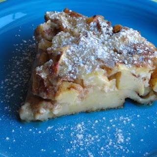 Baked Custard Pancake Recipe