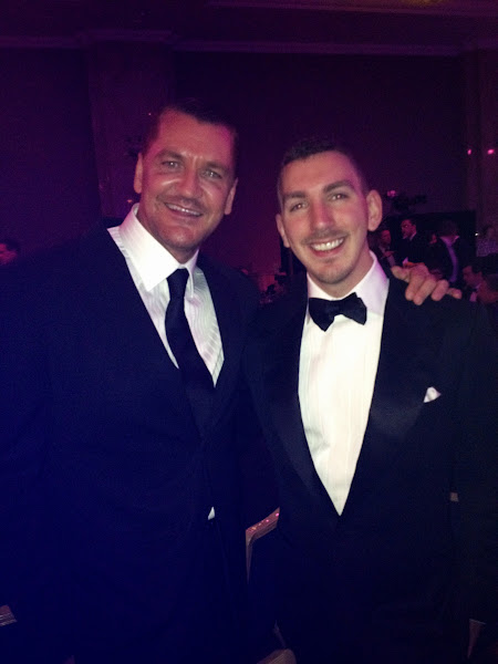 Photo: (L) Craig Fairbrass (Ghost) (R) Robert Bowling at 2012 BAFTA Awards