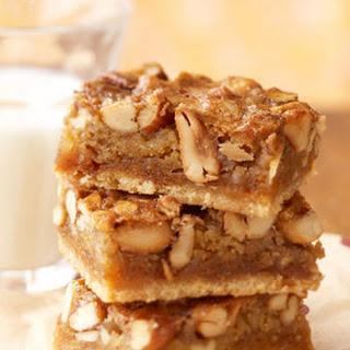 Gooey Mixed-Nut Bars