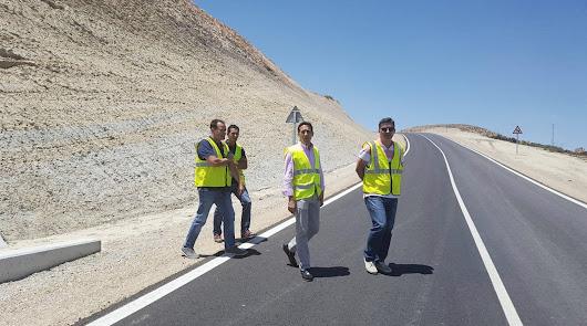 Actuaciones por valor de 154.000 € para carreteras