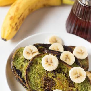 Green Smoothie Vegan French Toast Recipe
