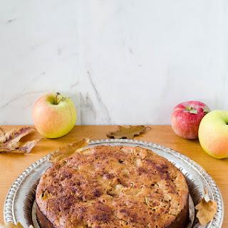 Buckwheat Apple Cake (Gluten Free)