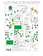 Photo: Map of Camp Frank A. Day