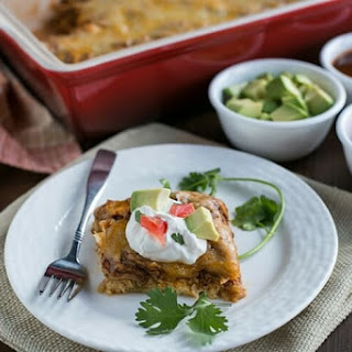 Low Carb Mexican Chicken Casserole.