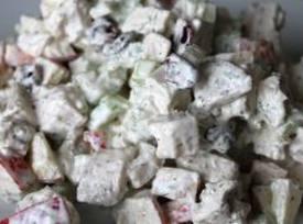 Creamy Yam Salad Recipe