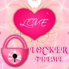 桃紅色心臟題材GO儲物櫃 icon