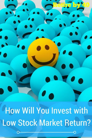 How will you invest with low stock market return?