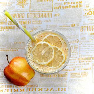 Citrusy Mango and Papaya Smoothie.