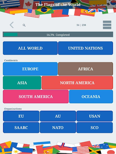 The Flags of the World u2013 Nations Geo Flags Quiz 4.9 screenshots 16