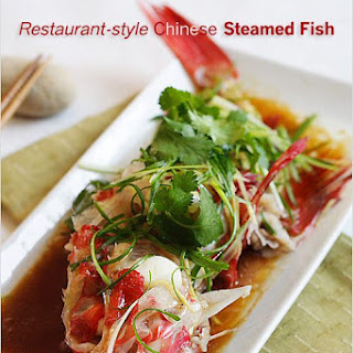 Steamed Fish Recipe (Chinese Steamed Fish)