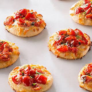 Mini Margherita Pizzas.