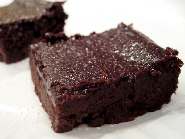 3 Ingredient Cinnamon Cappuccino Black-bean Brownies Recipe