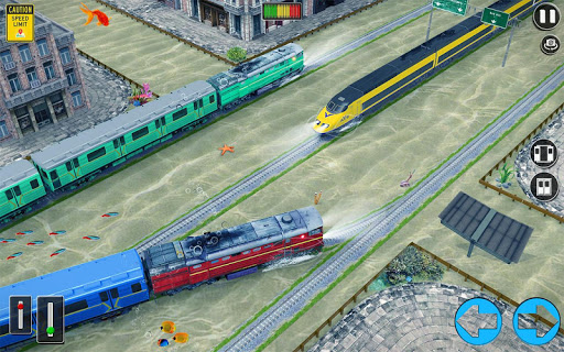 Underwater Bullet Train Simulator : Train Games 2.0.0 screenshots 8