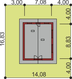 Domek Mały 004 BK V3 - Sytuacja