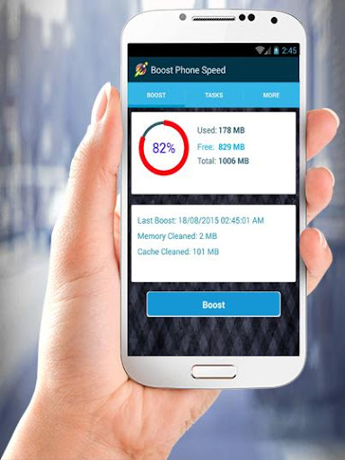 Boost Phone Speed