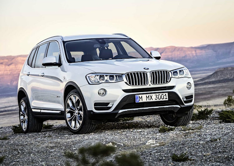 The new BMW X3 is following its X5 sibling in the looks department. Picture: SUPPLIED