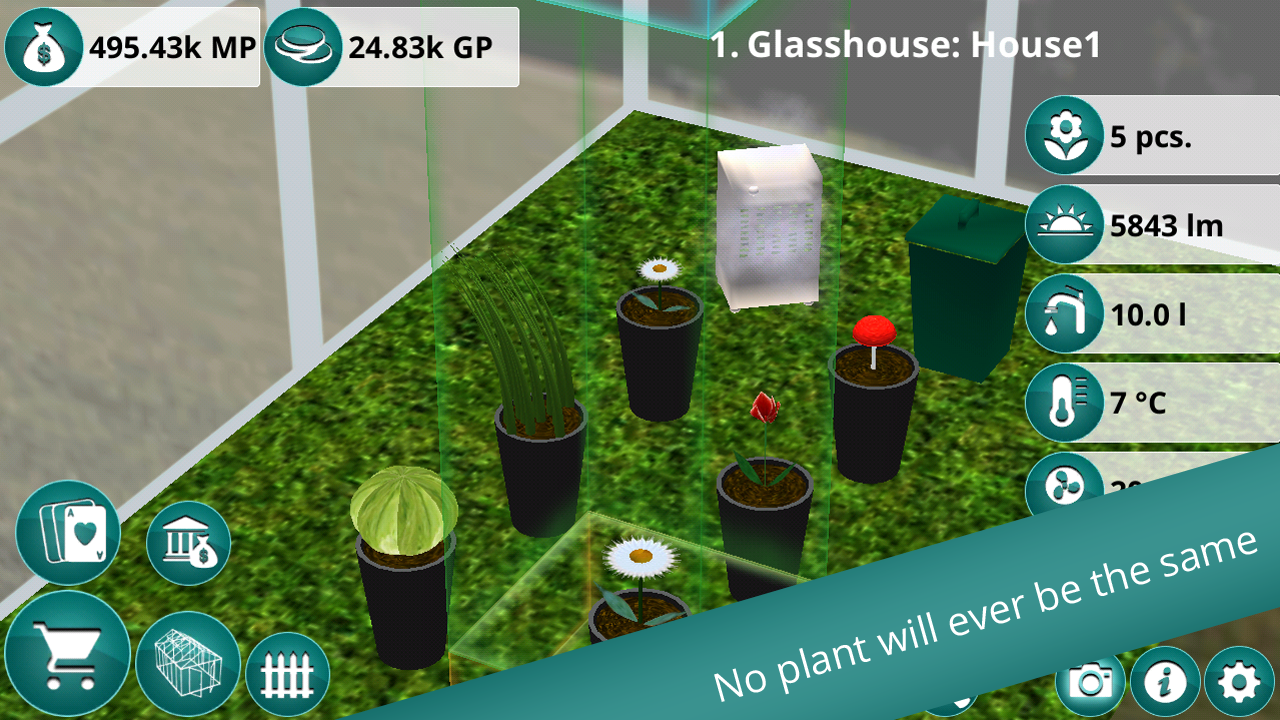 Plants & Flowers Garden Co.- screenshot