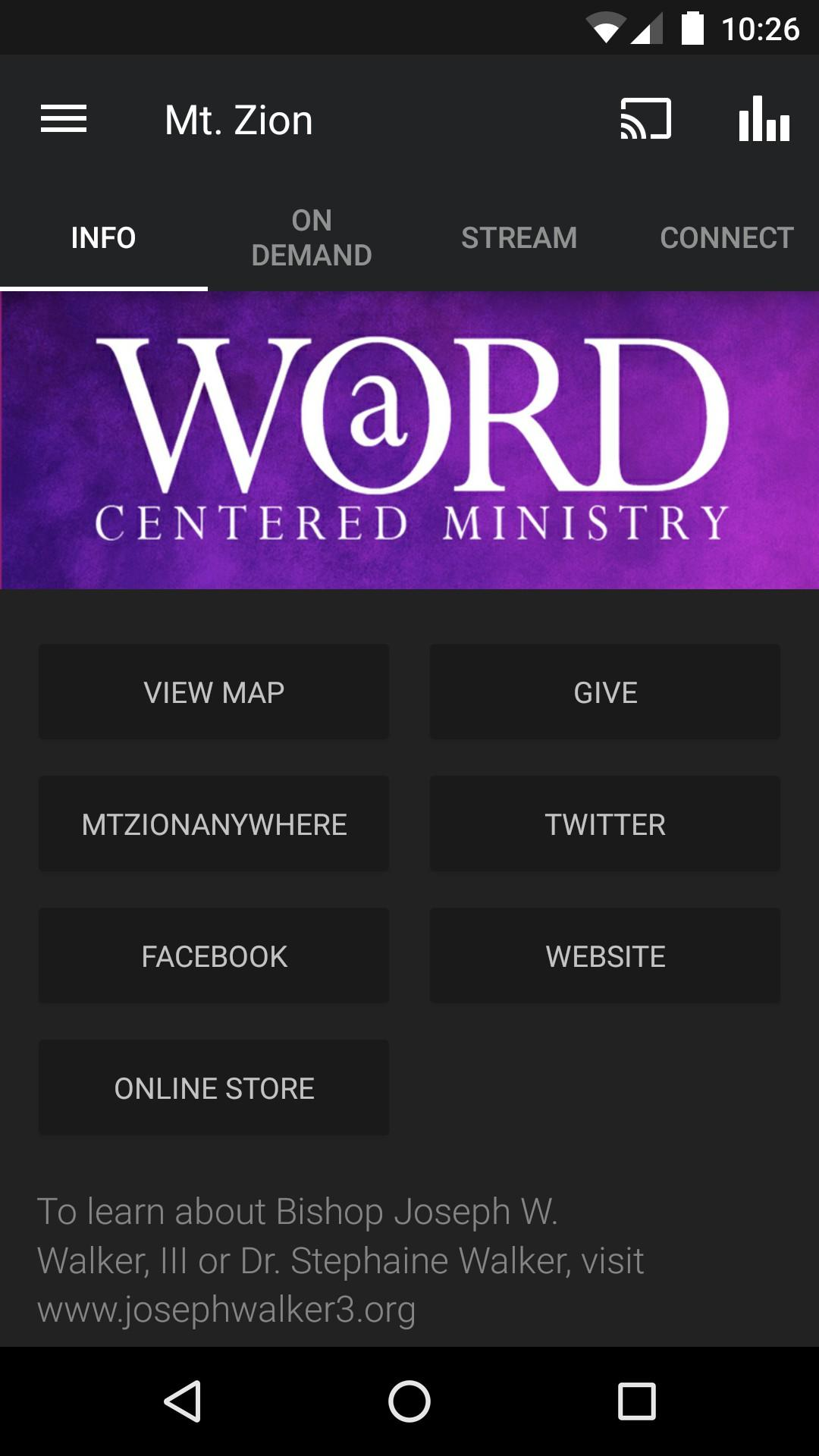 Mt. Zion Baptist Church screenshot #1