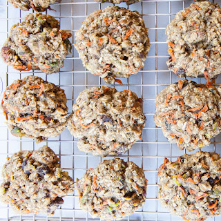 Carrot, Cardamom and Pistachio Breakfast Cookies.