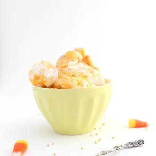 Candy Corn Ice Cream.