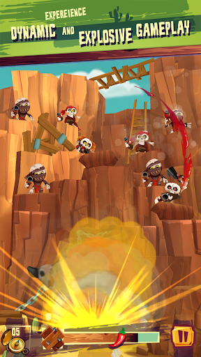 Run & Gun: BANDITOS screenshot 9