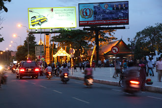 Photo: Year 2 Day 35 - An Evening View of Phnom Penh