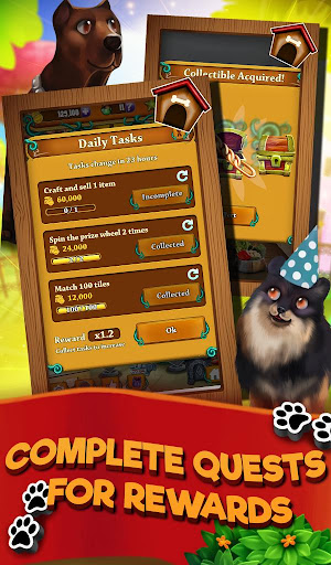 Match 3 Puppy Land - Matching Puzzle Game apkmr screenshots 4